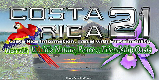 Costa Rica Information for Learn and Travel with Nature Conservancy & Sustainability