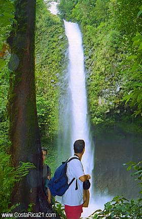 [Waterfall Tour at La Fortuna River]